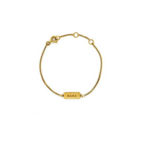 Little Mama Bracelet- Gold