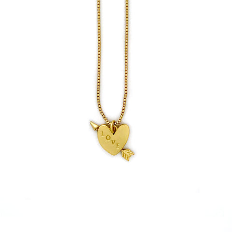 Quinn Necklace- Gold