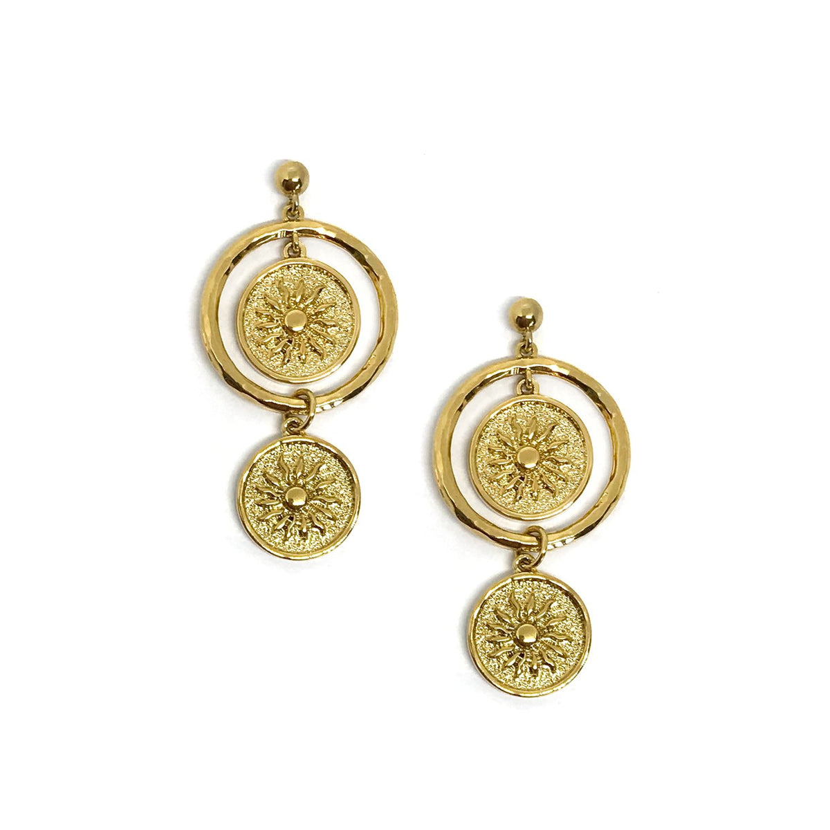 Soleil Earrings - Gold
