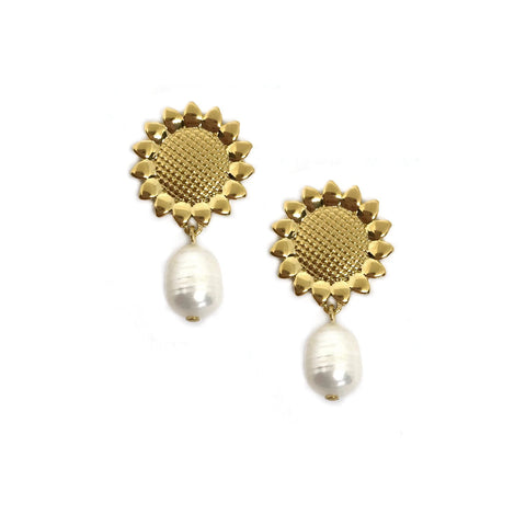 Vie Earrings - Gold