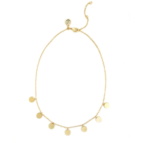 Wilma Necklace- Gold