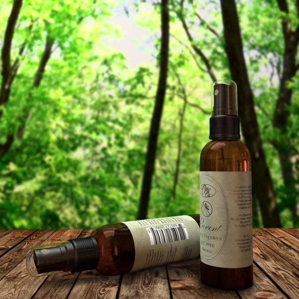 Prevent Natural Outdoor Aromatherapy - DEET and Chemical Free - 4 oz.