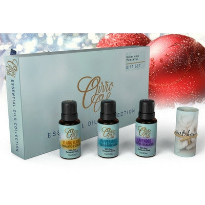 Calm and Peaceful Essential Oils Gift Set by Ovvio