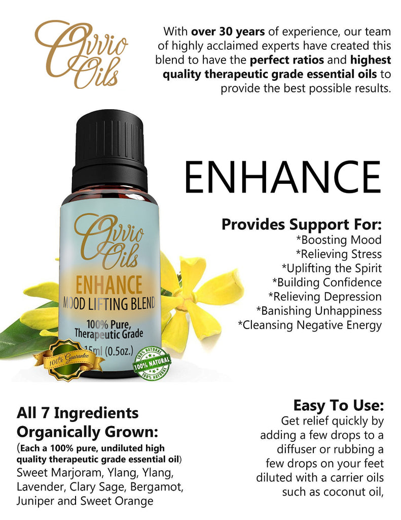 Enhance - Mood Lifting Blend - 15ml