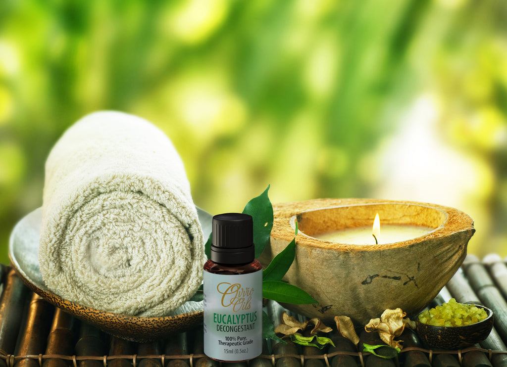 Eucalyptus Essential Oil - Origin: India - 15ml