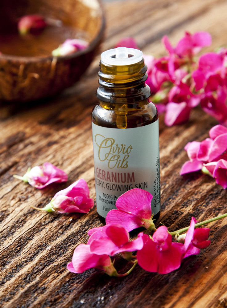 Geranium Essential Oil- Origin: Egypt - 15 ML