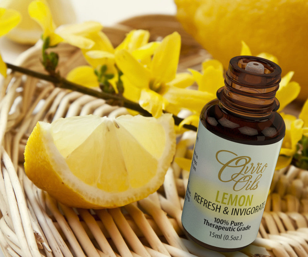Lemon Essential Oil - Large 15ml