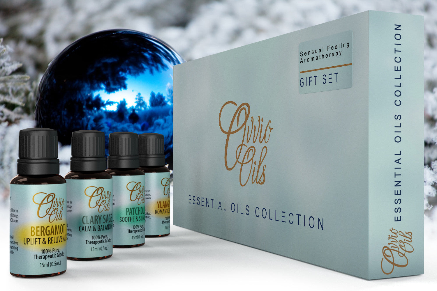 Sensual Essential Oils Collection by Ovvio | Natural Essential Oils for Holistic Health