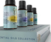 Sale!  Save 46% on Top Aromatherapy Blends Gift Set -(4 Bottles-15ml ea.)