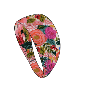 Rifle Paper Peach Floral Headband