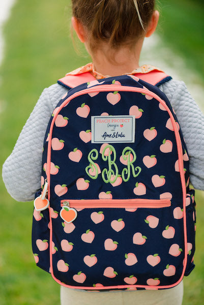 Peach Backpack