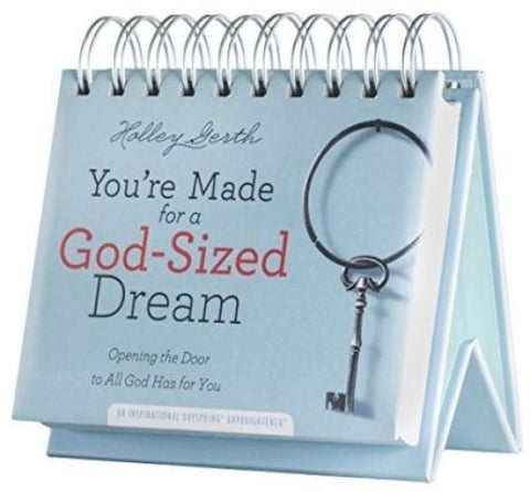 You're Made for a God Sized Dream 365 Day Calendar