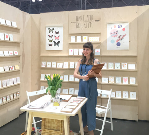 National Stationery Show booth 2016