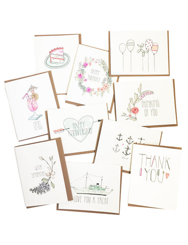 10 pack of cards from hartland brooklyn