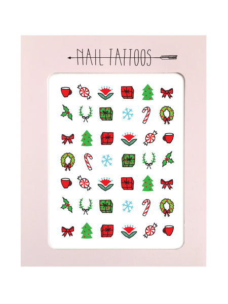 Nail Tattoos / Holiday Nail Tattoos - wholesale