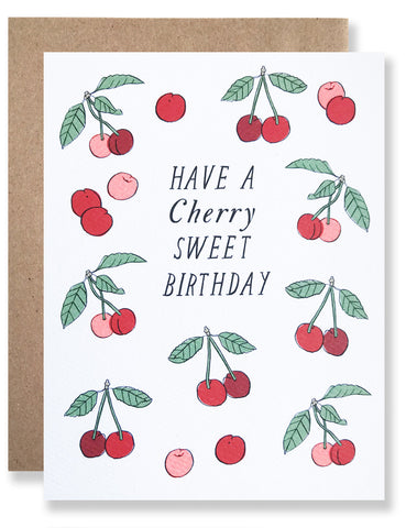 Have A Cherry Sweet Birthday