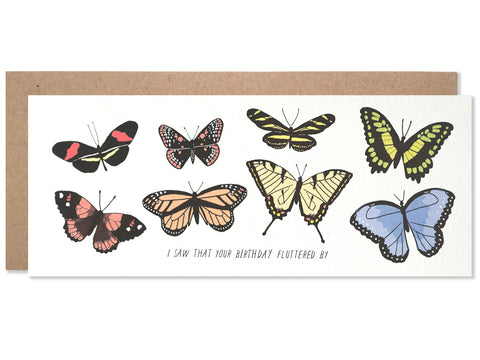 Birthday / Belated Flutterby - wholesale