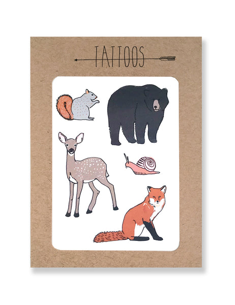 Forest Temporary Tattoos