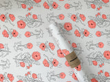 Poppy Wrapping Sheet