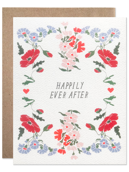 Happily Ever After Poppy and Cornflower