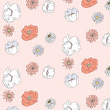 Large Poppy Wallpaper Pink