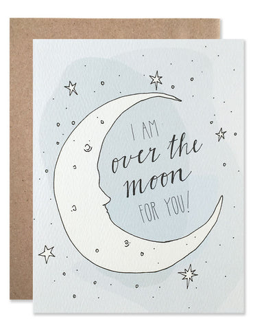 Cresten moon with stars that glow in the dark illustrated by Hartland Brooklyn