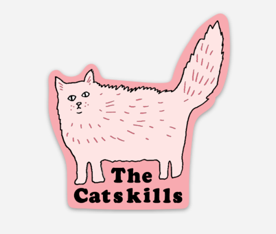 Catskills Magnet or Sticker