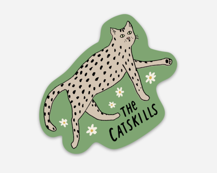Catskills Cat Sticker or Magnet