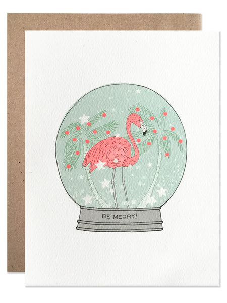 Holiday Flamingo