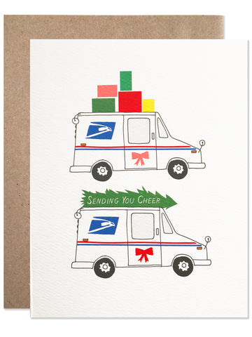 Holiday / HOLIDAY CHEER MAIL TRUCK - wholesale