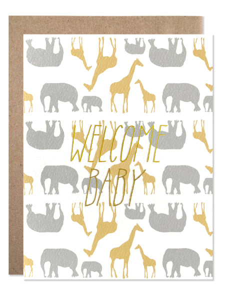 New Baby / Welcome Baby Safari - wholesale