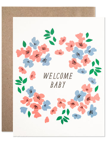 New Baby / Welcome Baby Wreath - wholesale