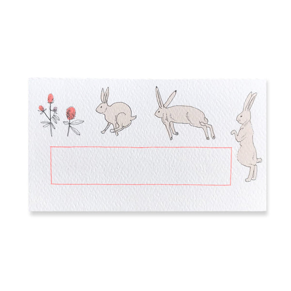 48 Mini Bunny Cards