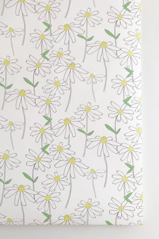 Large Scale Daisy Wallpaper
