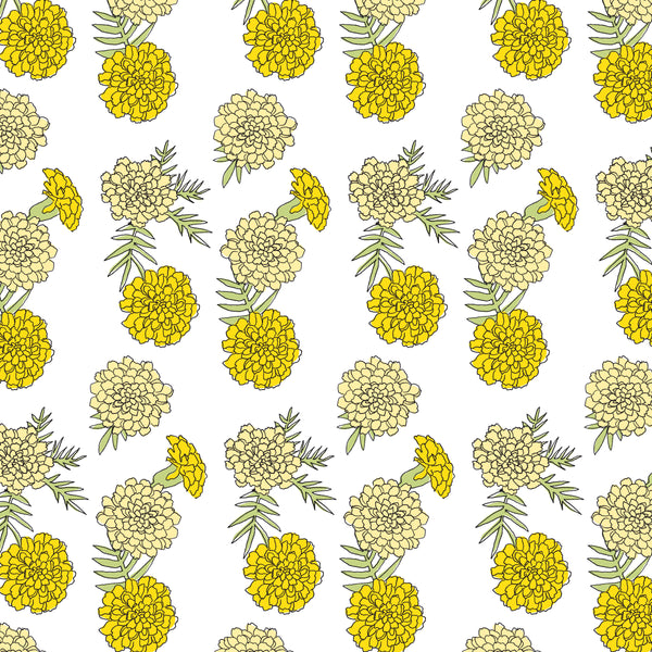 Yellow Marigold Wallpaper