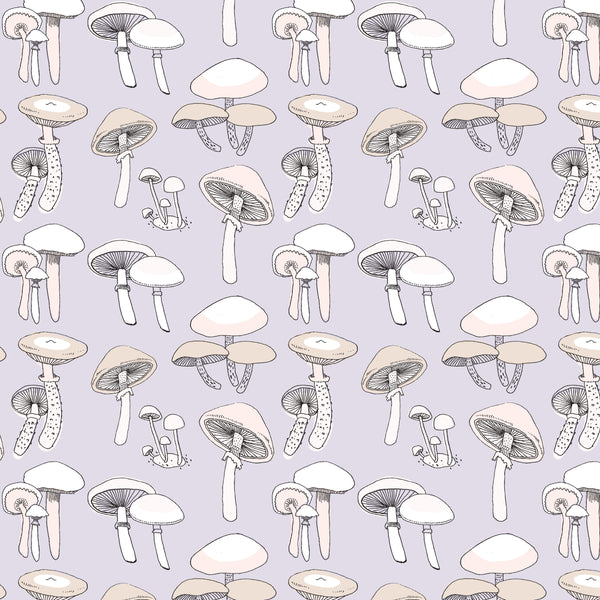 Purple Mushroom Wallpaper