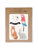 3-Pack Temporary Tattoos