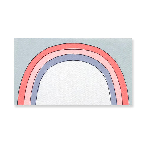 48 Mini Rainbow Cards