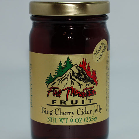 Bing Cherry Cider Jelly