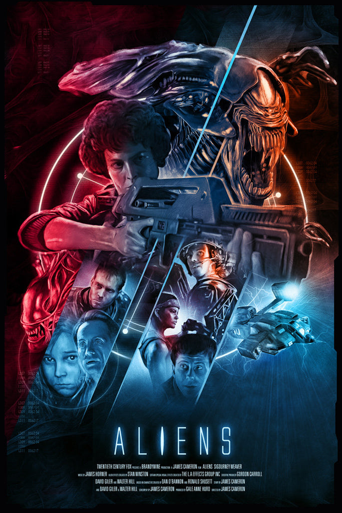 Image result for aliens poster
