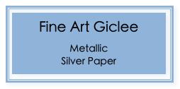 Fine Art Giclee on Metallic Silver Paper