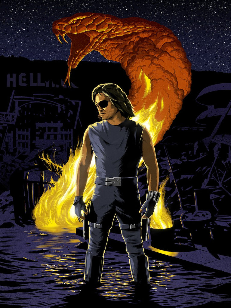 The Name's Plissken by Chris Koehler