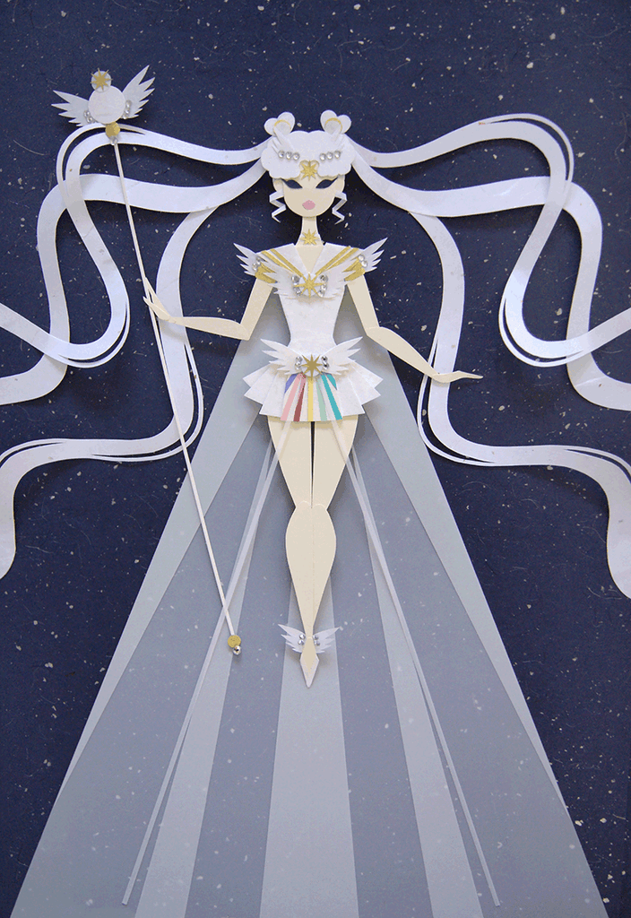 Sailor Cosmos by Nikkie Stinchcombe/Little Paper Forest