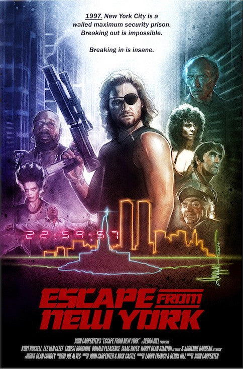 Escape From New York Large Variant by Paul Shipper