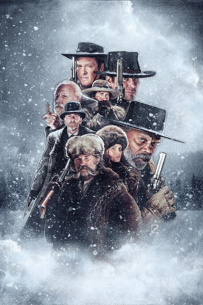 The Hateful 8 Large Variant by Paul Shipper