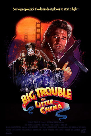 Big Trouble In Little China Large Variant by Paul Shipper