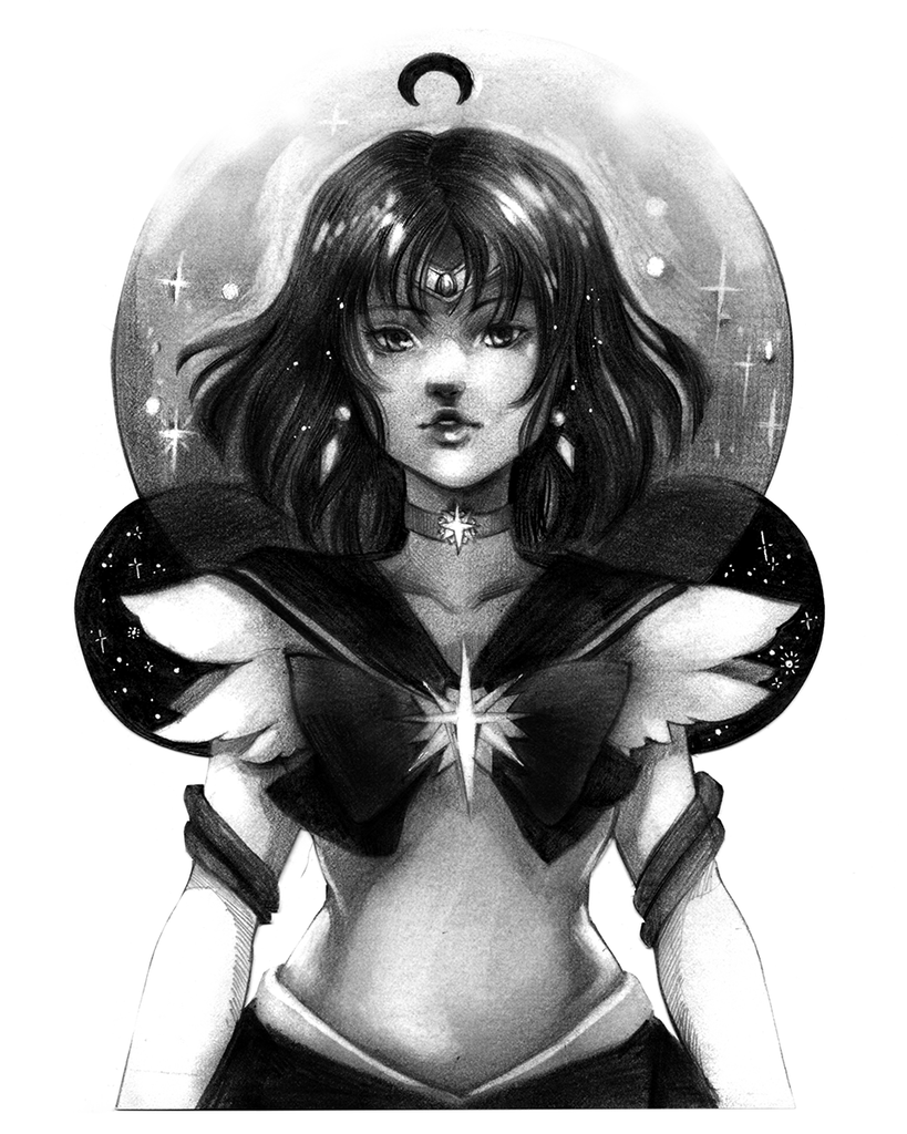 Sailor Saturn by Malisa Suchanya