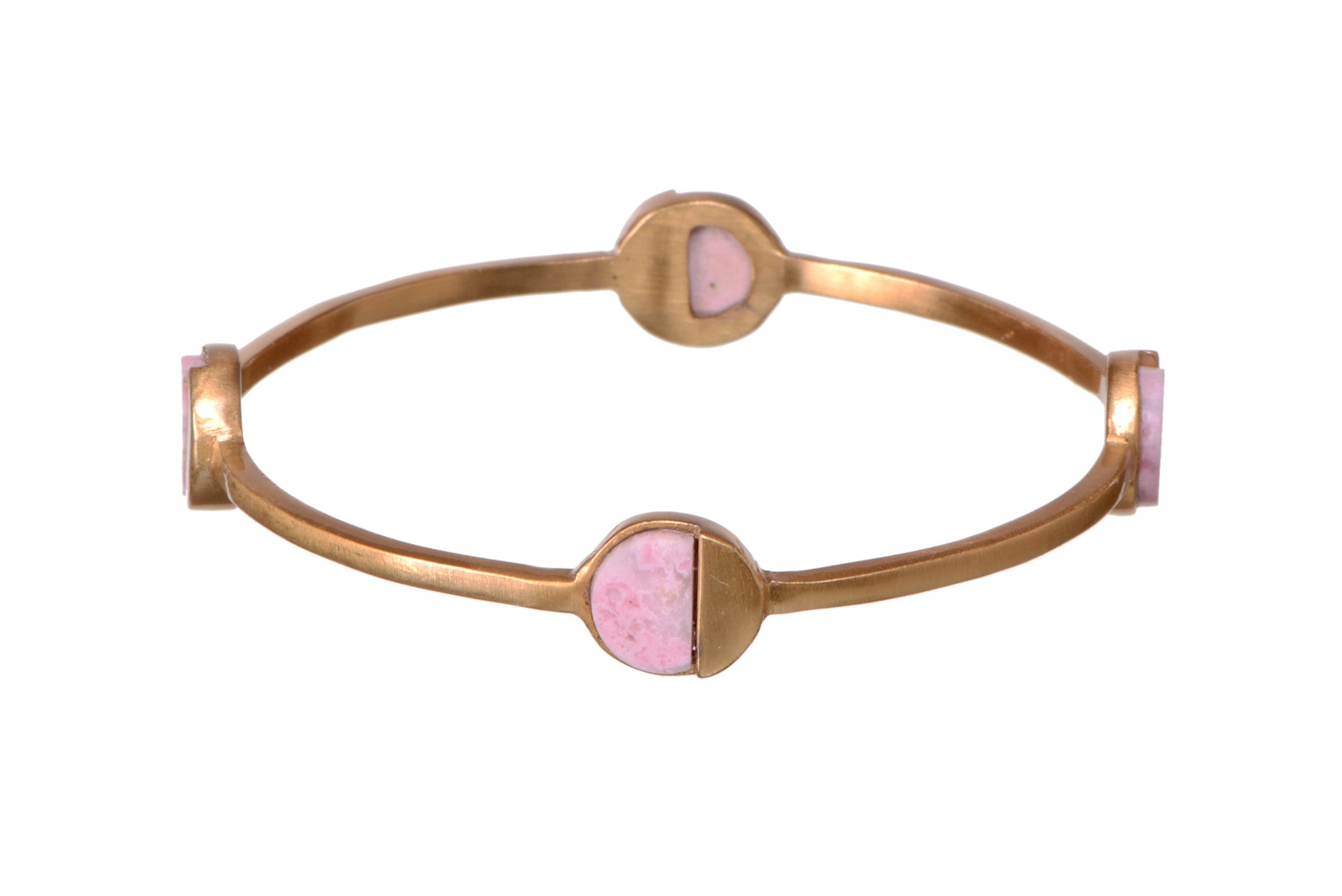 Modest grace Rhodochrosite bangle