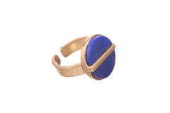 Pretty possessive Lapis lazuli ring