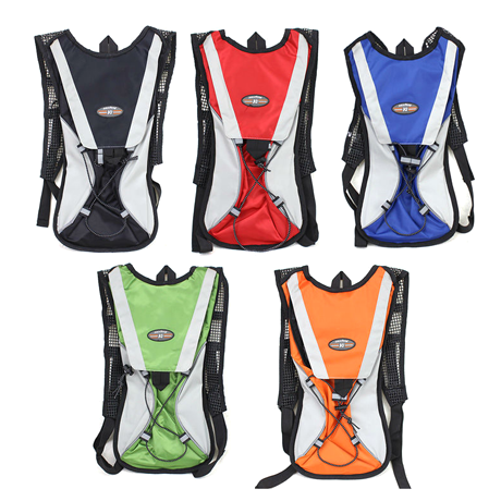 Hiking/Bicycle Hydration Backpack - Assorted Colors